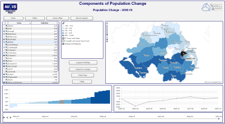 Components of Population Change Interactive Map